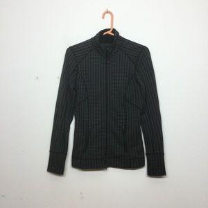 2/$20 Zella Print Zip Up Jacket ##